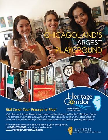 Heritage Corridor Convention & Visitors Bureau Group Tour Promotion
