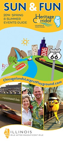 2014 Heritage Corridor CVB Sun & Fun Spring/Summer Events Guide