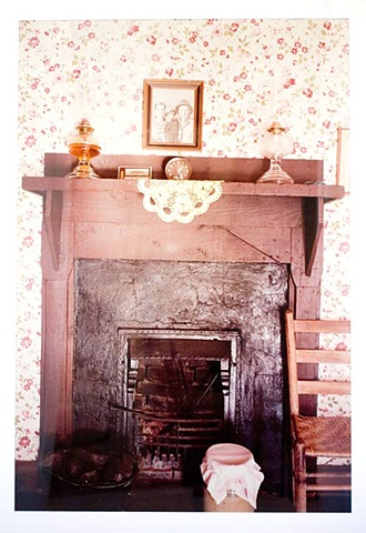 UNTITLED (FIREPLACE IN ELVIS'S BIRTHPLACE, TUPELO)
