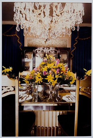 UNTITLED (DINING TABLE AT ELVIS'S GRACELAND)