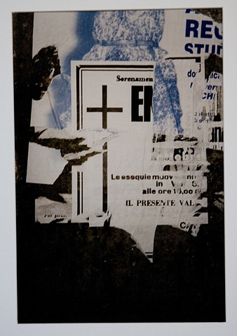 UNTITLED (TORN POSTERS, NAPLIES, ITALY)
