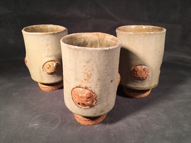 Stoneware group: Ash Glaze