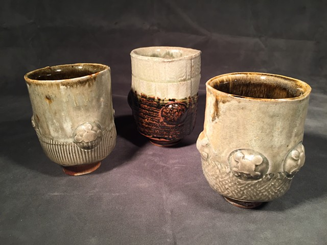 Stoneware group: Celadon