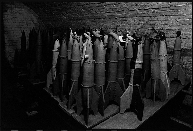 Rockets Drying Wiating to be Fired