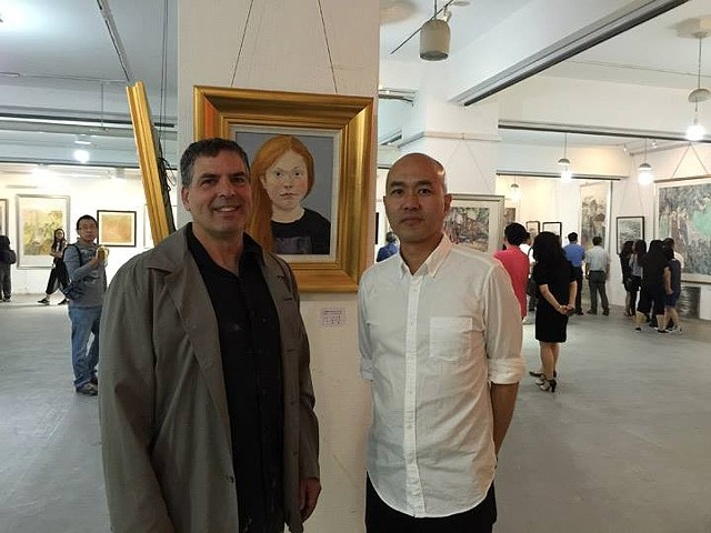 Yao With Portrait of Mia