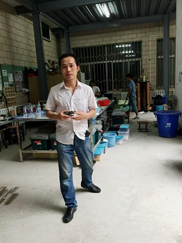 Peng, Ceramics instructor at Lanzhou City University
