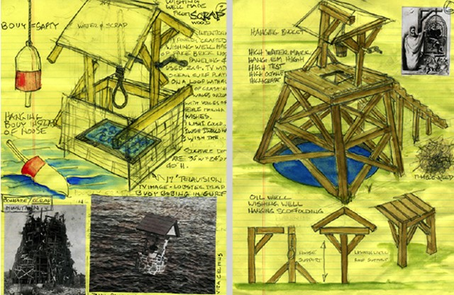 Wishing Well Project: Notebook, Pages 2 and 6
