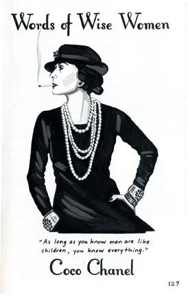 Coco Chanel, The Heartbreak Diet