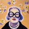 portrait Carrie Donovan for American Illustration