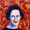Portrait Diana Vreeland for American Illustration