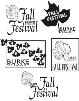 LOGO CHOICES BURKE FALL FESTIVAL