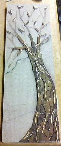 EXUBERANT ELM - WIP Step 1 - the trunk and branches