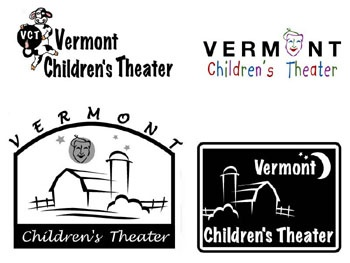 LOGO CHOICES FOR VERMONT CHILDREN'S THEATER
