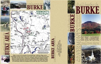 BURKE AREA CHAMBER OF COMMERCE VISITOR BROCHURE (side 1)