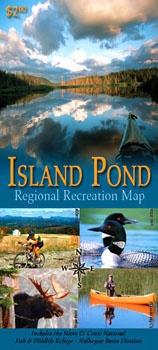 ISLAND POND RECREATION MAP