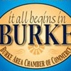 """SEASONAL"" ADVERTISING LOGOS BURKE AREA CHAMBER OF COMMERCE"