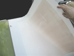 Aligning the Paper over the Inked Linoleum