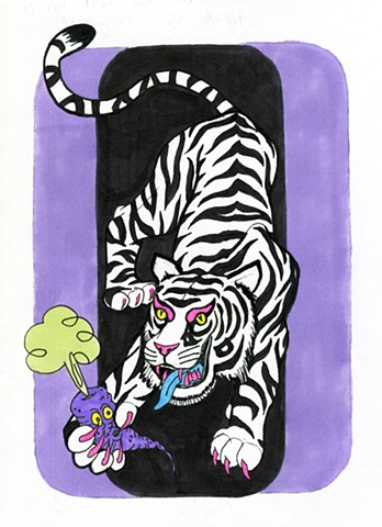 Tiger and Purple carrot