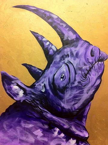 Rhinoceros Private Collection