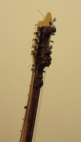 White Harp Detail