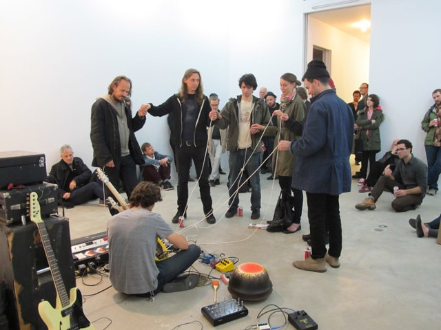 Performance at Shoot the Lobster  Organized by Anton Kern