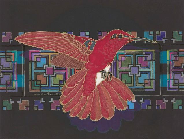 RUBY TOPAZ HUMMINGBIRD (2018)
