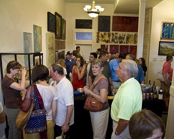 ECHO Juried Open Call to Artists Reception August 14, 2010  Photography by Don Simmons