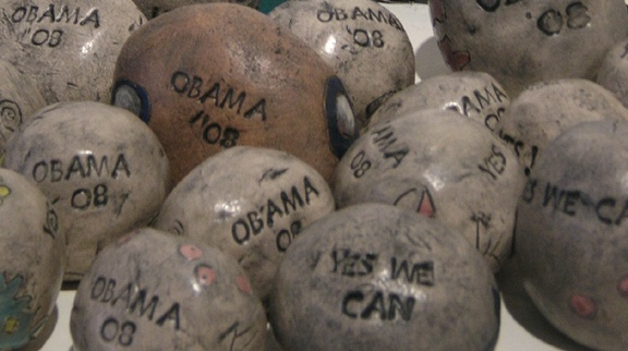 Yes We Can/Obama '08 Hope Stones