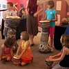 Family Day at the Denver Art Museum.