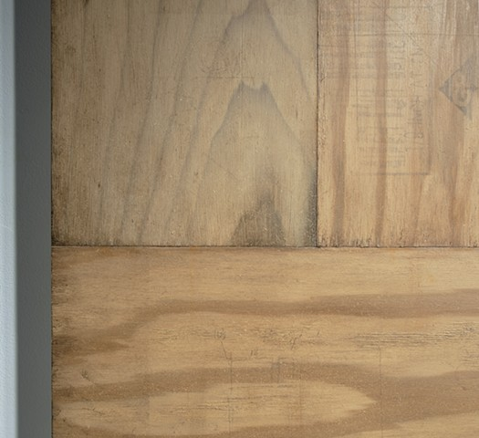 Wood Glue Apophanie (detail)