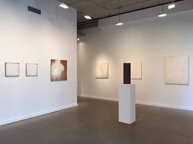 """Installation of """"Marks of the Trade"""" at Lyons Wier Gallery"""