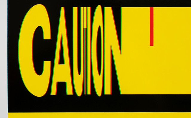 """Caution"" detail"