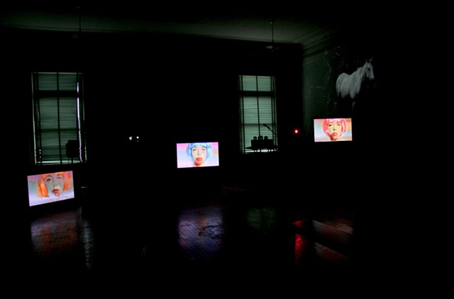 still from installation
