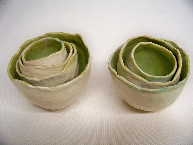 Pair of nested Cups