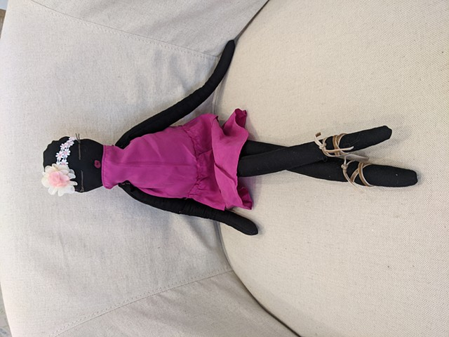 Doll #05 of 111 for the Misota Primary School in Kyotera district, Uganda SOLD
