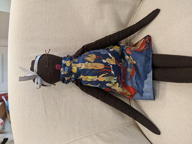 Doll #14 of 11 for the Misota Primary School in Uganda SOLD