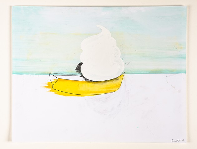 Untitled (Soft Serve in a Boat)