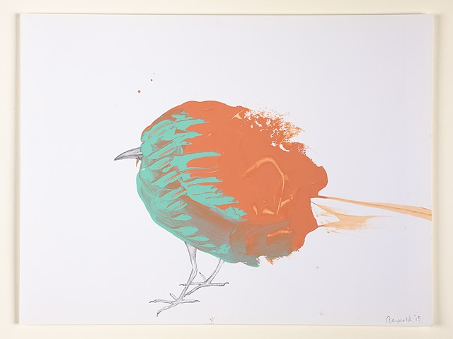 Untitled (Bird from Miami on Fire)