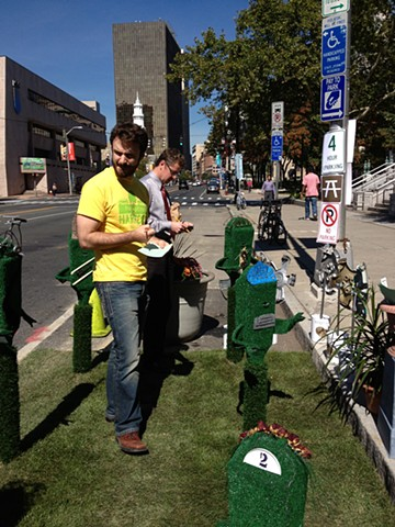 PARK(ing) Meter Topiaries (interactive)