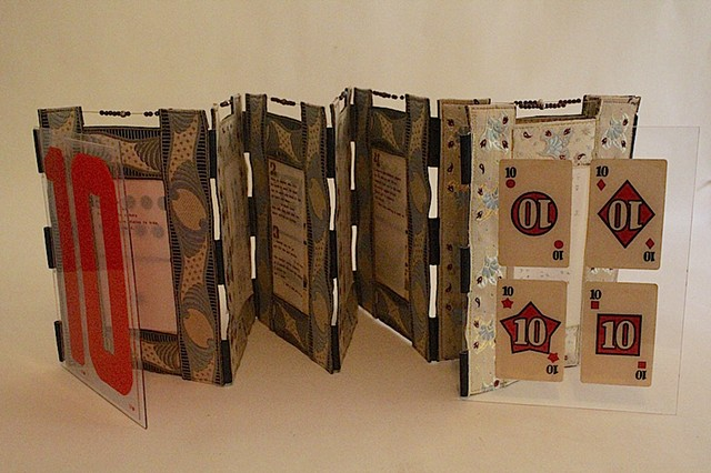 Accordian Book sculpture