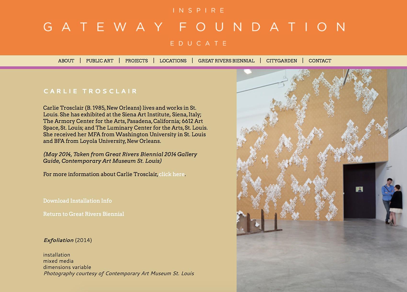 Carlie Trosclair - Gateway Foundation