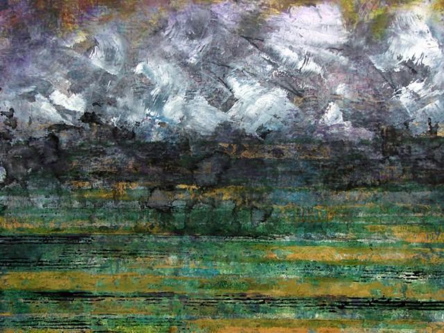 Spring Storm - detail