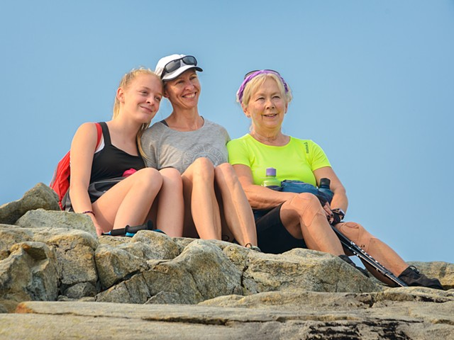 Another 3 Generations of Hikers
