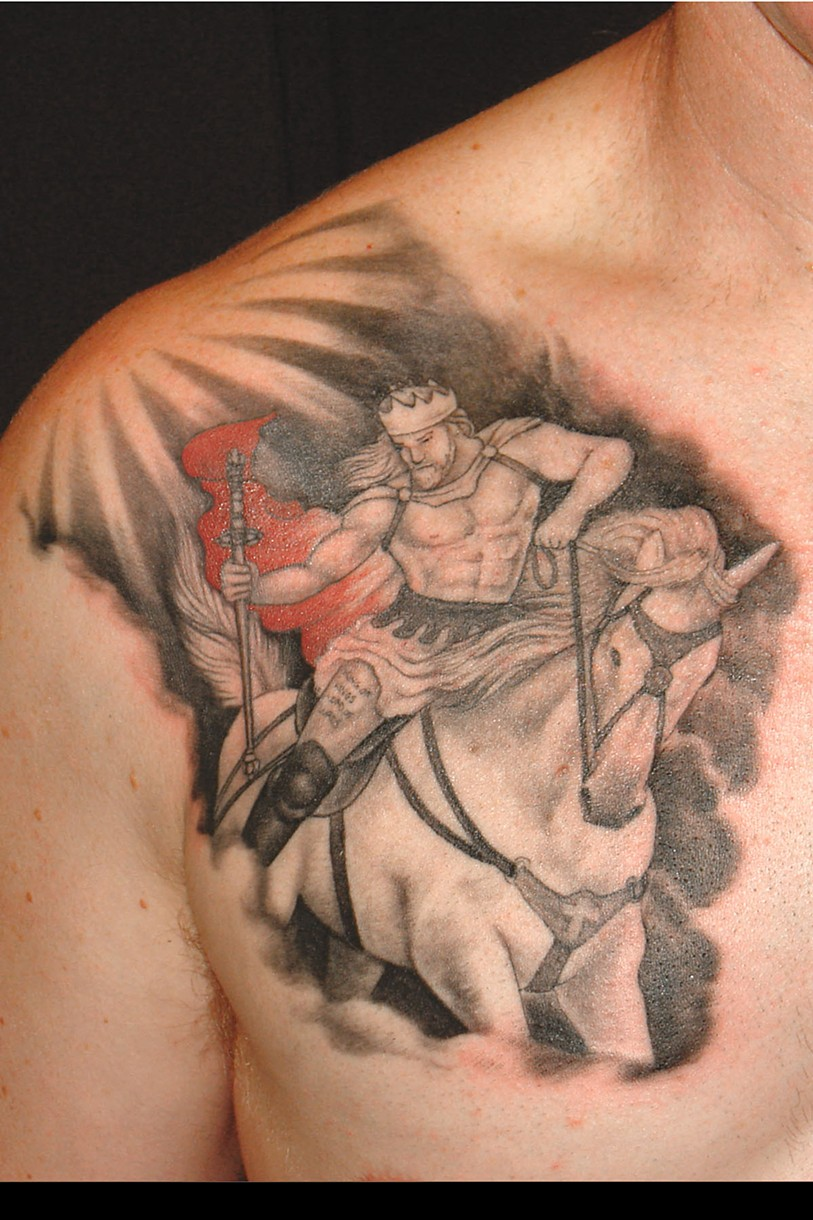 8th Day Tattoo - KING OF KINGS