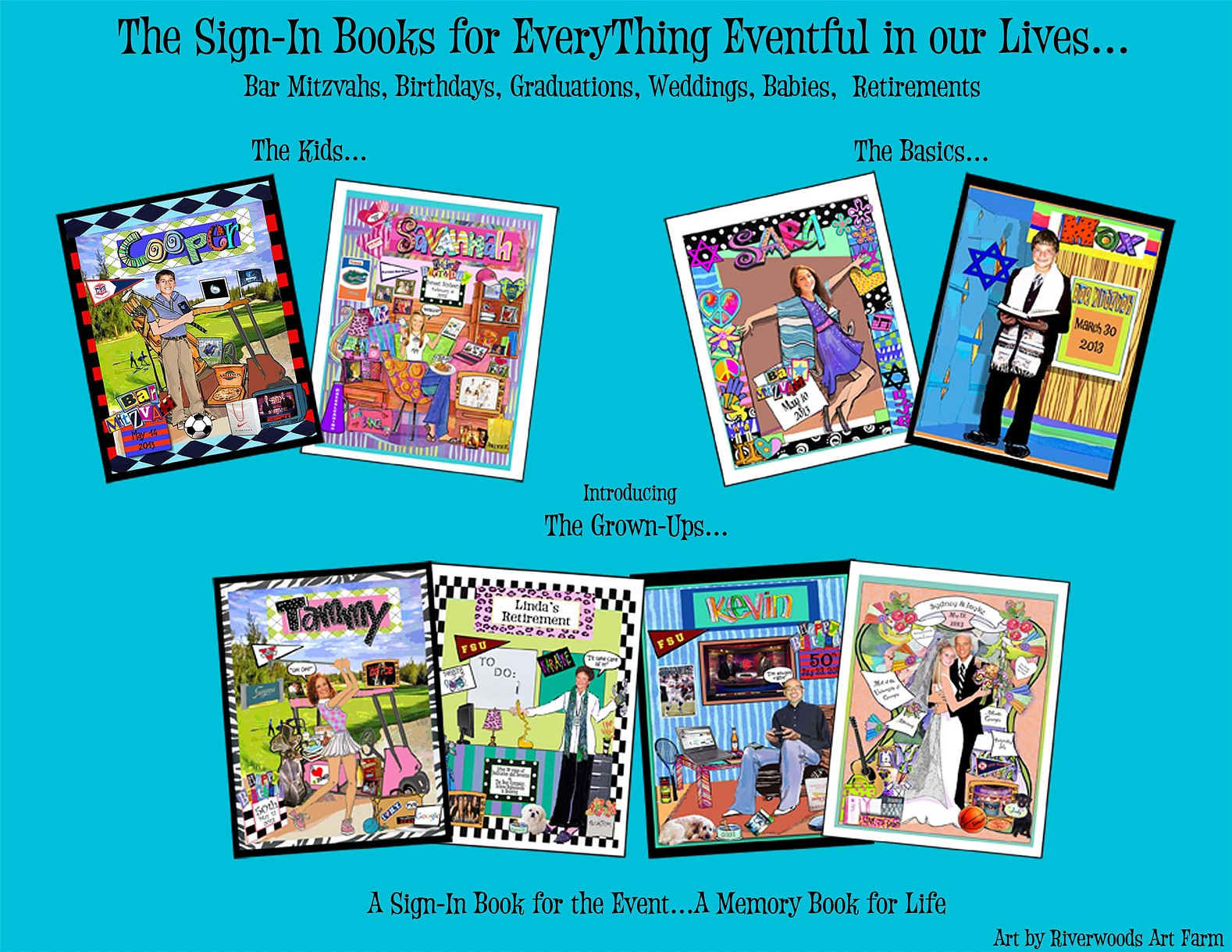 sign in memory books by everything eventful