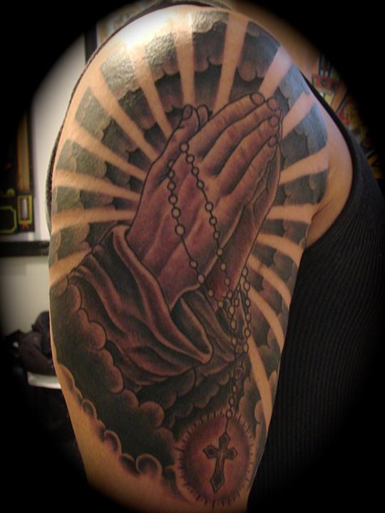 Art Freek Tattoo Praying Hands