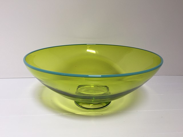 Small Yellow Transparent Bowl