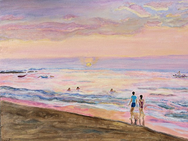 Beach Walkers A Study of Lee Stroncek