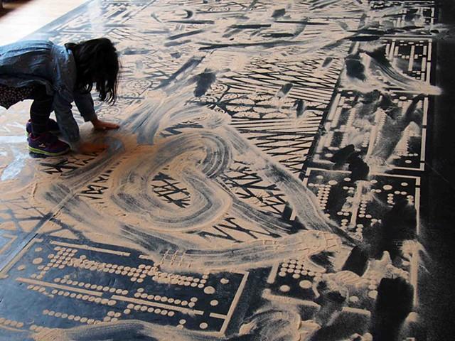 Dirt Carpet # 6  (London) - Public Performance Process