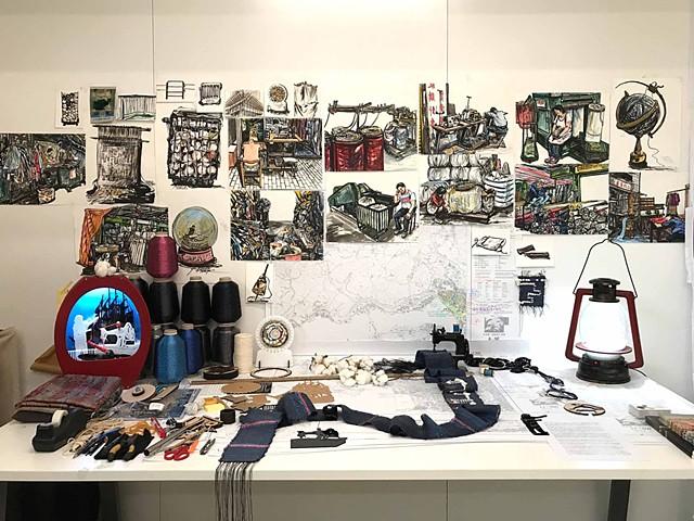 Cotton Research Project III –Cotton Dream- Open Studio